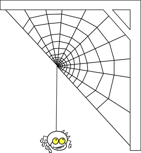 spider web clipart transparent spiderweb cobweb arachnid spider 183 free vector graphic on