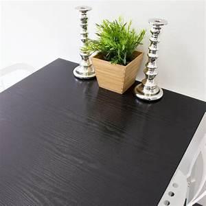 Dc Fix Tischdecken : dc fix black wood adhesive film set of 2 t346 0034 the ~ Watch28wear.com Haus und Dekorationen