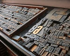what is letterpress With press in letters