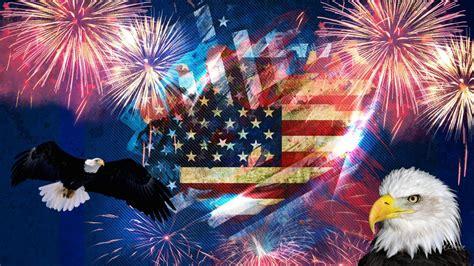 symbols  america american flag bald eagle july
