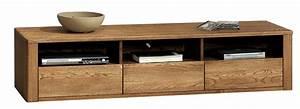 Meuble Tv En Chene Massif : meuble tv xxl en ch ne massif collection nebraska orlando ~ Teatrodelosmanantiales.com Idées de Décoration