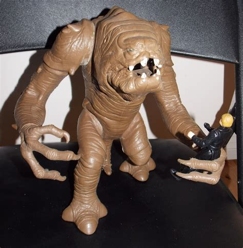 vintage  star wars rancor monster  luke