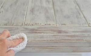 Shabby Chic Bett Selber Machen : meubles vintage diy 3 techniques faciles pour patiner le bois ~ Markanthonyermac.com Haus und Dekorationen