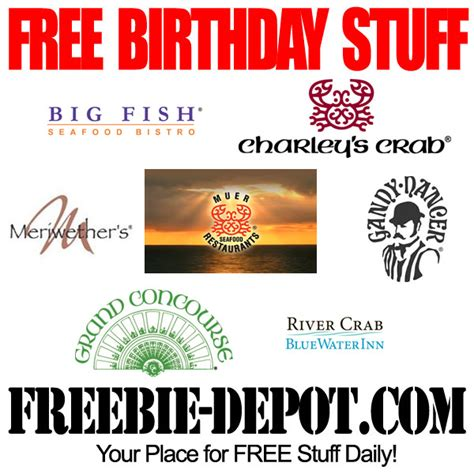 birthday freebies in grand rapids michigan