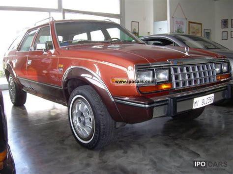 jeep amc 1982 jeep amc eagle car photo and specs