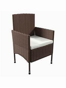 Polyrattan Stühle Günstig Kaufen : vcm rattan gartenm bel set 140x90 in 6 st hle 1 tisch ~ Watch28wear.com Haus und Dekorationen