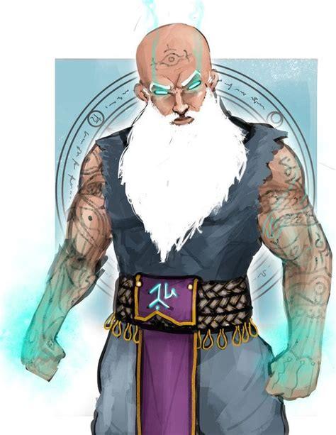 Muscle wizard casts quarterstaff : DnDGreentext