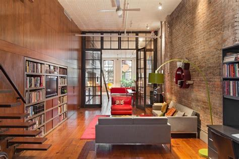 Cool Inviting New York City Loft by 456 Broome Loft Survived Plans For Expressway In