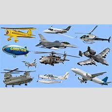 Learning Air Vehicles Names & Sounds For Kids Learn Airplanes, Jets, Helicopter Youtube