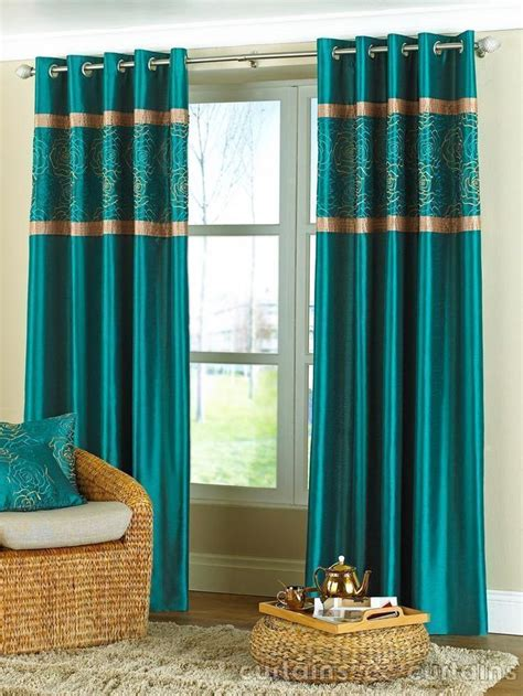 teal curtains ideas  pinterest red color