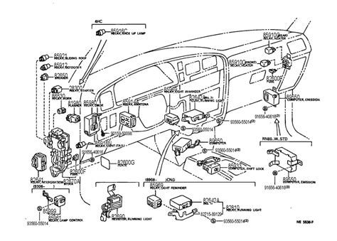 1990 Camry Radio Wiring by 1989 Toyota Camry Lights Wiring Diagram Electrical