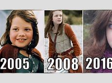 Lucy From 'The Lion, the Witch and the Wardrobe' Is Now 21