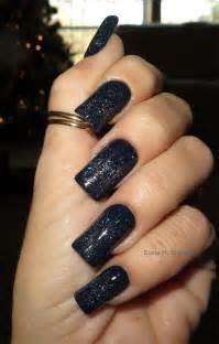 Black Acrylic Nail Designs
