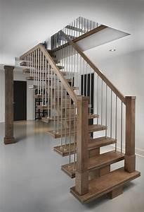 Rampe D Escalier Moderne : boiseries raymond home pinterest ~ Melissatoandfro.com Idées de Décoration