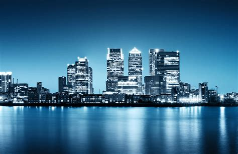 canary wharf skyline wallpaper wall mural