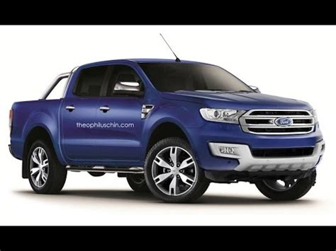 2016 Ford Ranger redesign concept revealed   prototype new