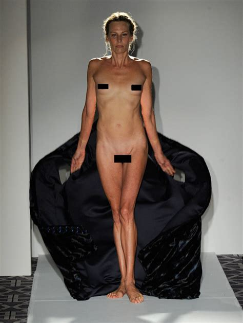 New York Fashion Week Full Frontal Nudity Bare Boobs And Bum Cleavage Are Hottest Trends