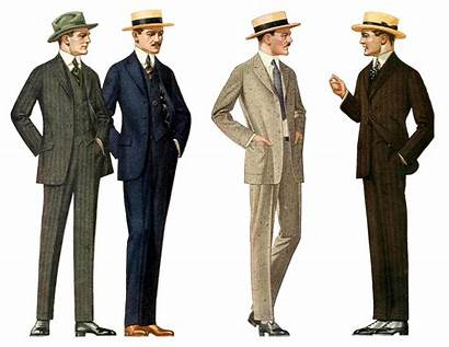 Mens Suit Suits Hats 1915 Outfits 1900