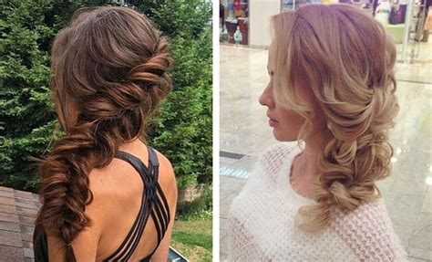 21 Pretty Side-swept Hairstyles For Prom Jewe Blog Quick And Easy Updo Hairstyles How To Have Daniel Padilla Hairstyle Make A Fishtail Braid On Your Own Hair Cuts For Long Look Younger At 60 Get Beach Waves In Short Without Heat With Straightener Black Female Mohawk