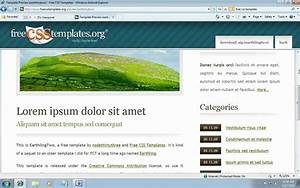 how to use free css templates with aspnet mvc 3 youtube With master page asp net with free template