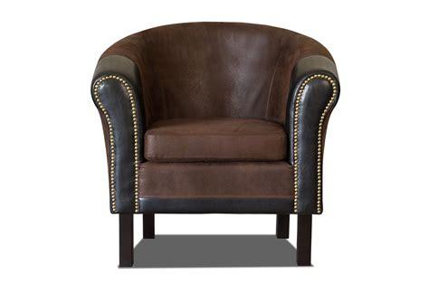 fauteuil cabriolet cuir et bois
