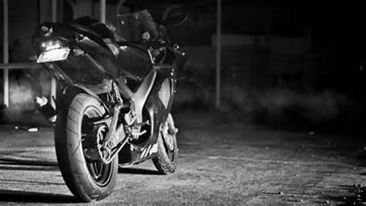 Motorcycle Night Smoke Gifs Animation Bike Dean