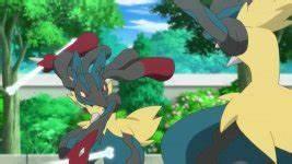 Episode 835 - Mega Lucario VS Mega Lucario! A Storm of ...