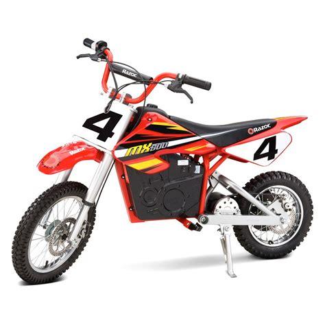 electric motocross bikes razor 15128190 dirt rocket bike mx500 ebay