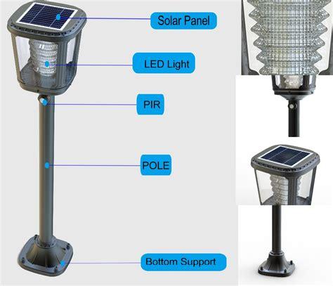 column light fixtures solar powered outdoor l post lights garden lawn l