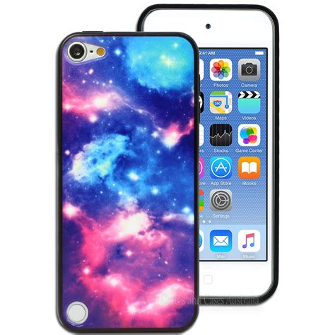 NEW Galaxy Stars Cosmic Case for Apple iPod Touch 5 5th 6