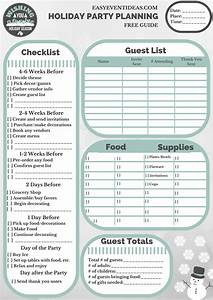 Free Holiday Party Planning Guide  U2013 Easy Event Ideas