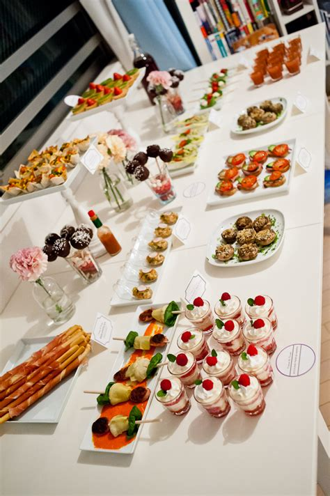 table canape cocktails canapes part 2 2 oh my omiyage