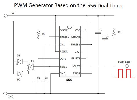 Fan Pwm Signal Circuit Using Timers Can Anyone
