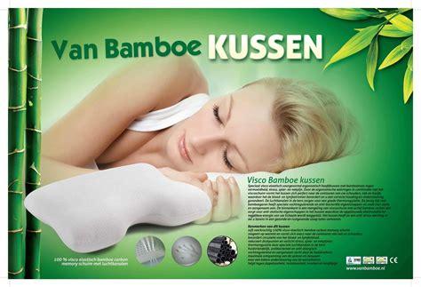 Goede Kussen Voor Nek by Bamboe Ergonomisch Hoofdkussen Uitproberen Bamboe
