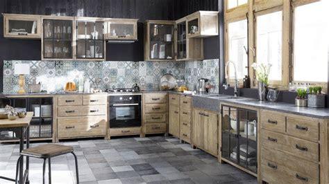 cuisine bois metal cuisine bois metal le bois chez vous
