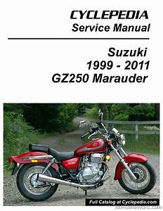 Suzuki Gz250 Marauder Cyclepedia Printed Motorcycle