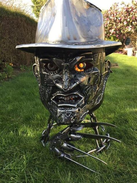 freddy krueger fire pit belongs   horror