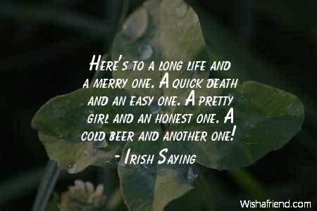 irish quotes  life quotesgram