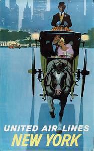 New York Poster : united airlines posters vintage european posters ~ Orissabook.com Haus und Dekorationen
