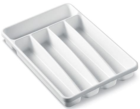 tray silverware cutlery drawer plastic organizer holder trays lid inches organizing durable kitchen flatware display spoon tips clean target organizers