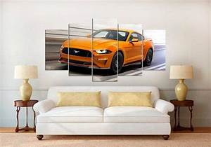 Ford Mustang 5 – Automative 5 Panel Canvas Art Wall Decor – Canvas Storm