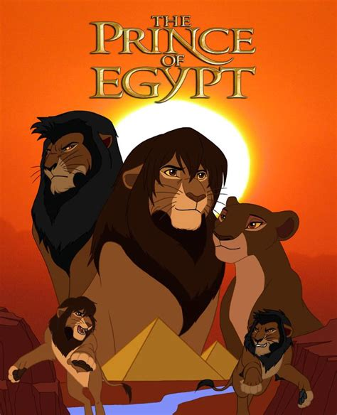 The Lion Prince Of Egypt Remastered By Zerokiba On Deviantart
