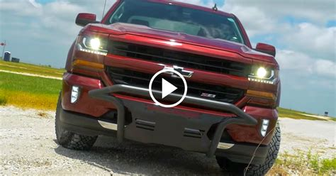 silverado outfitted  chevrolet performance parts