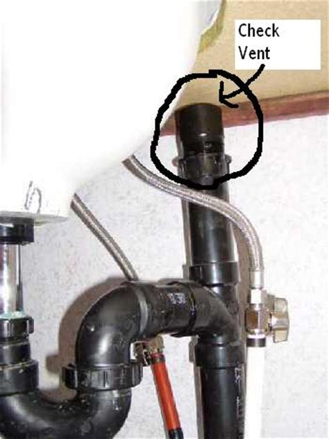 kitchen sink gargles  washer  draining plumbing