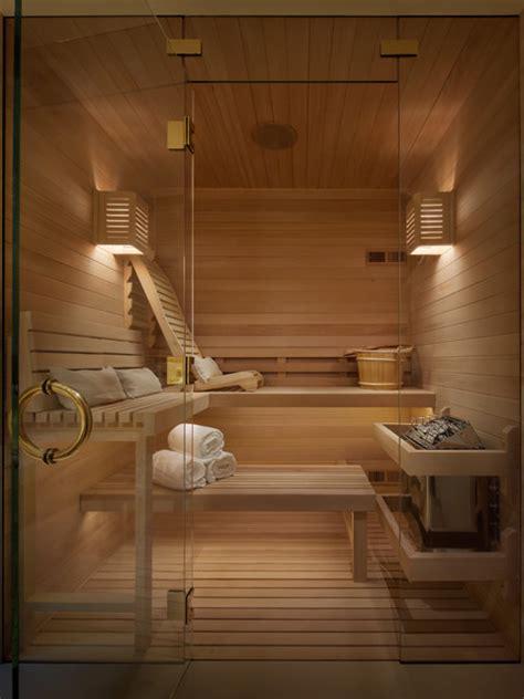 luxury spa sauna