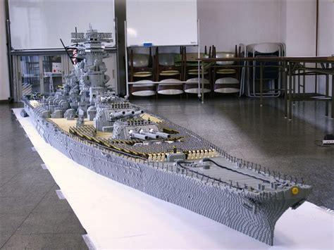 Biggest Lego Boat Ever by Lego Battleship Yamato Is Biggest Lego Ship Ever