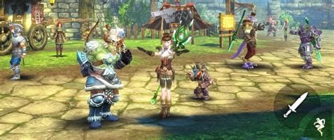 Peria Chronicles Free Mmorpg Review 5 Of The Best Mmo For Android And Ios 2017