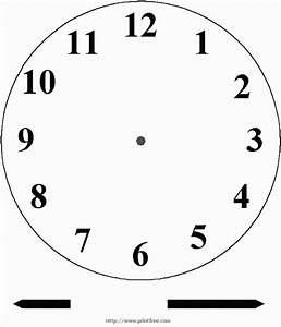 free printable clock face with hands homeschooling With printable clock hands template
