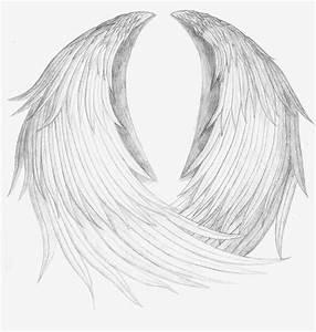realistic angel wings guardian angel by cat mcr ever on deviantart