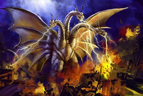 Deathwing (wow) Vs. King Ghidorah